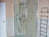 Walk-In-Dusche in Estremoz Light